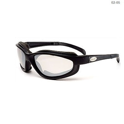 Curv Black Matte Frame / Mirrored Lens – Soft Airy Foam