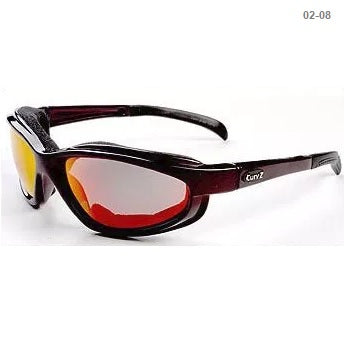 Curv Maroon Frame / Fire Red Lens – Soft Airy Foam