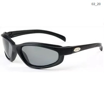 Curv Matte Black Frame / Polarized Smoke Lens – No Foam