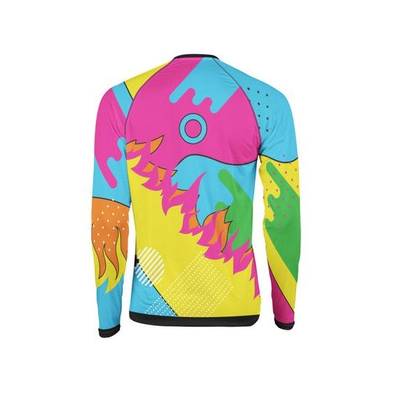"Colorful Jersey ""Fire On"""