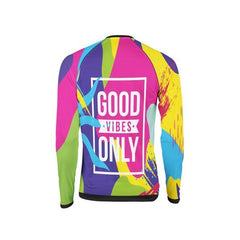 "Colorful Jersey ""Good Vibes"""