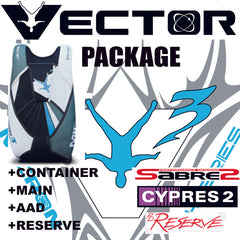 Gear PACKAGE VECTOR 3 or MICRON complete