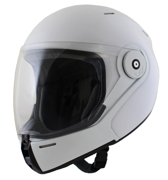 Tonfly TFX Full Face Helmet white