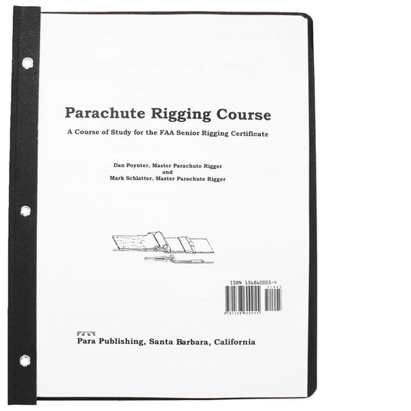 PARACHUTE RIGGING COURSE