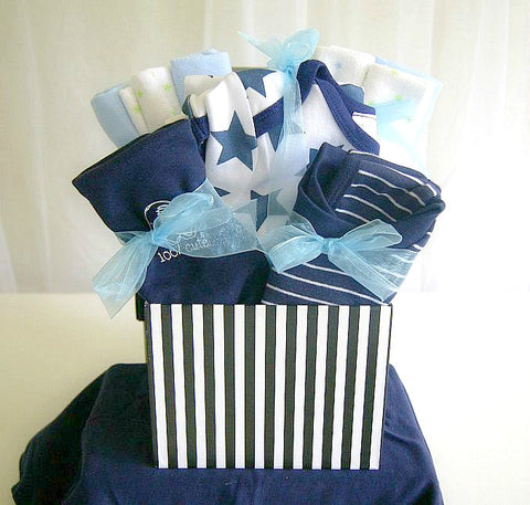 Bed and Bath Time Baby Gift Box