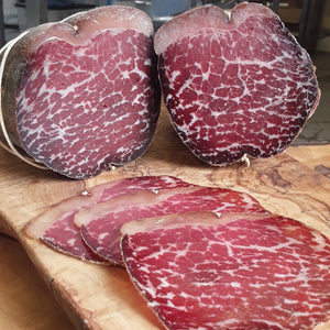 LOCALLY-SOURCED BEEF BRESAOLA