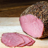 BEEF PASTRAMI - Available in sliced 50 gram packet