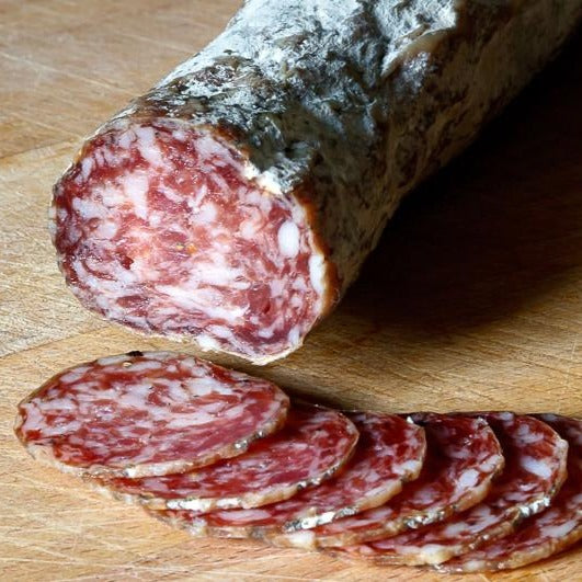 MANGALITSA GARLIC & BLACK PEPPER SALAMI
