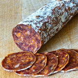 SPICY CHORIZO - Available 300 g whole stick and 150g half stick