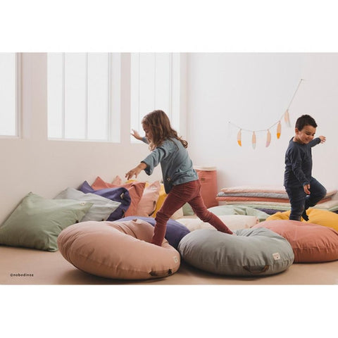 Nobodinoz Beanbag (with beans) - Sahara - Bloom Pink-Jack & Willow