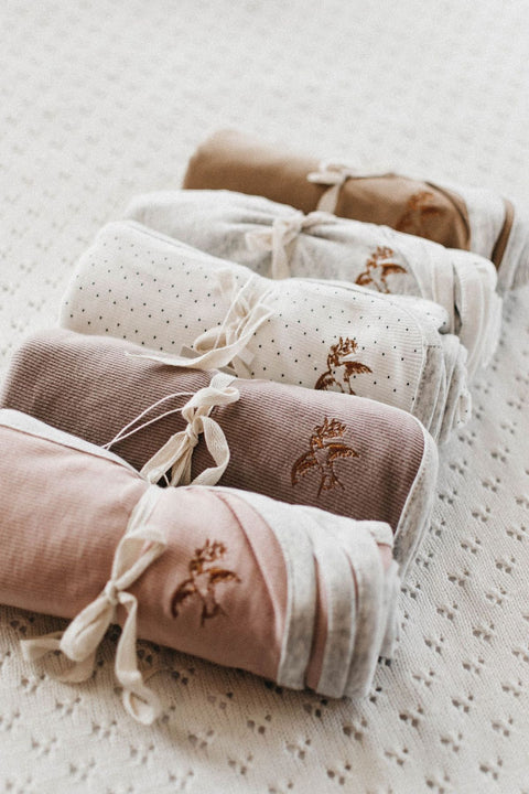 Piper Bug Simplicity Swaddle - Rose
