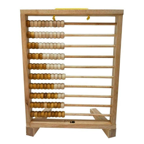 QToys Giant Abacus - Natural-Jack & Willow