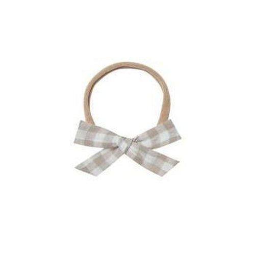 Rylee & Cru Bow with Headband - Gingham-Jack & Willow
