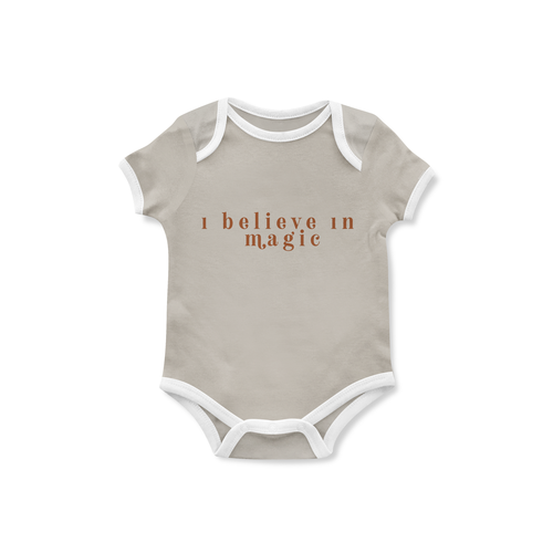 Piper Bug Christmas Romper / Tee Believe in Magic-Jack & Willow