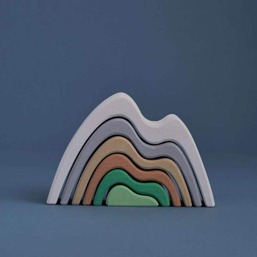 Raduga Grez Rainbow Arch Stacker - Mountain Small Coloured (LATE SEPTEMBER PRE-ORDER)-Jack & Willow