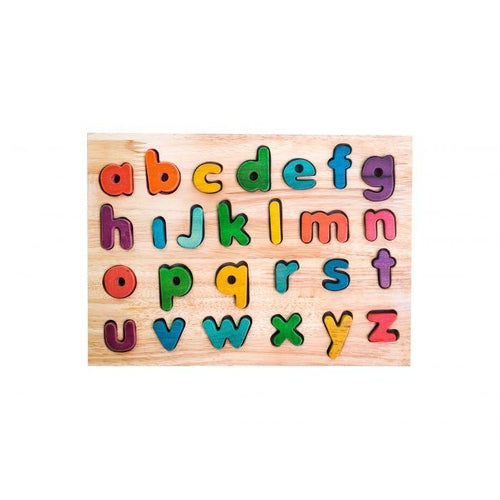 QToys Lowercase Rainbow Letter Puzzle-Jack & Willow