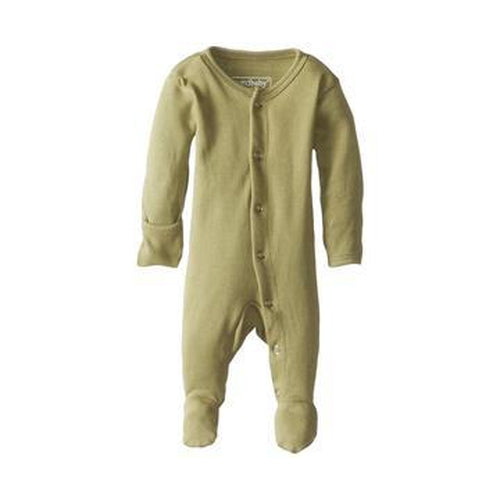 L'oved Baby Footed Overall Growsuit - Sage-Jack & Willow