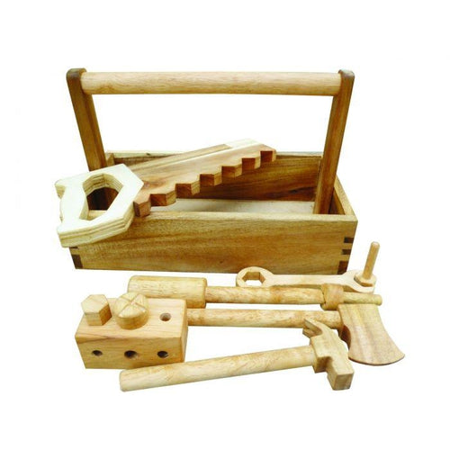 QToys Wooden Tool Set-Jack & Willow