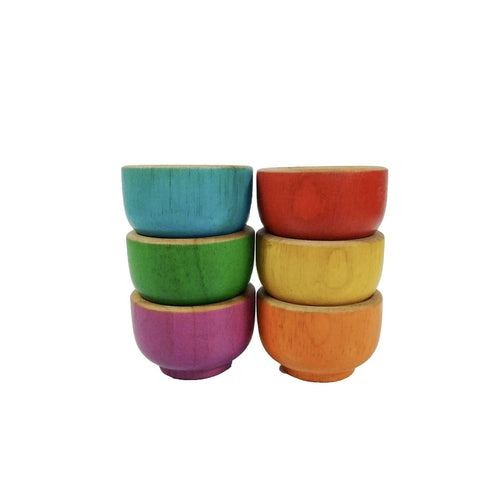 QToys Rainbow Sorting Bowls-Jack & Willow