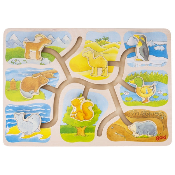 Goki Sliding Puzzle Who Lives Where