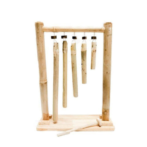 QToys Bamboo Hanging Xylophone-Jack & Willow