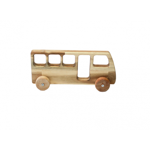 QToys Wooden Bus-Jack & Willow