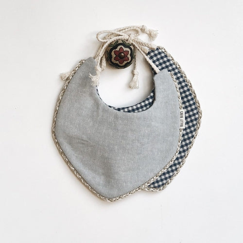 Billy Bibs - Jasper Reversible Bib-Jack & Willow