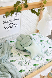 Snuggle Hunny Fitted Cot Sheet - Enchanted