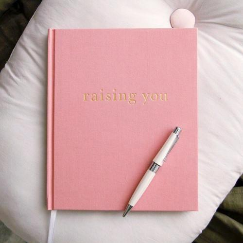 Write to Me Raising You Letters to My Baby - Pink-Jack & Willow
