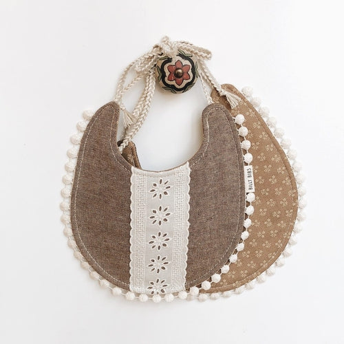 Billy Bibs - Wren Reversible Bib-Jack & Willow