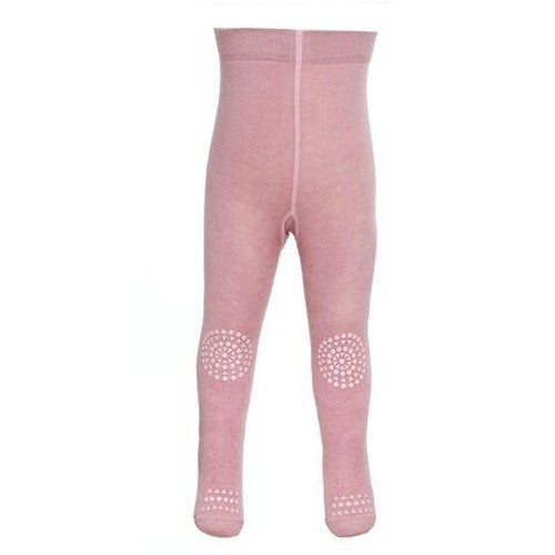 GoBabyGo Crawling Tights - Dusty Rose-Jack & Willow