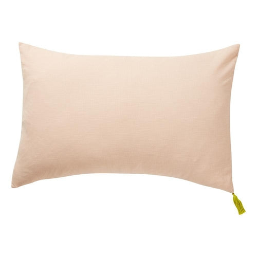 Sage x Clare Salamanca Tassel Pillowcase - Blush - Jack & Willow