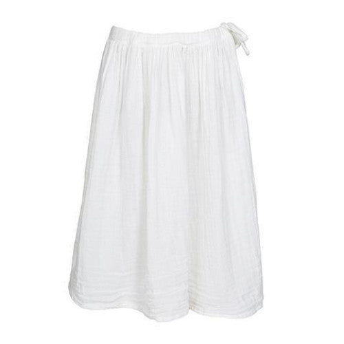 Numero 74 Ava Maxi Skirt - White-Jack & Willow