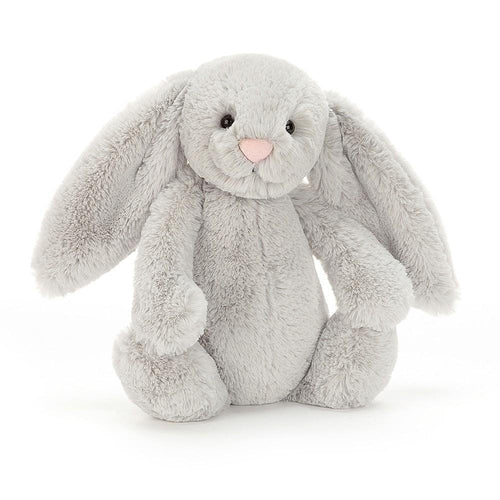 Jellycat Bashful Bunny Silver Grey Medium (31cm)-Jack & Willow