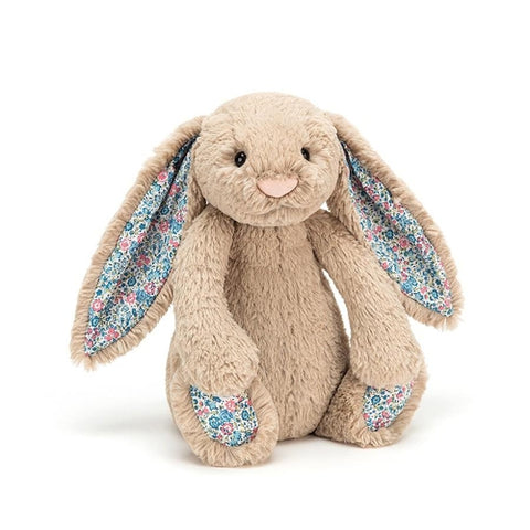 Jellycat Blossom Bashful Bunny Beige Small (18cm)-Jack & Willow