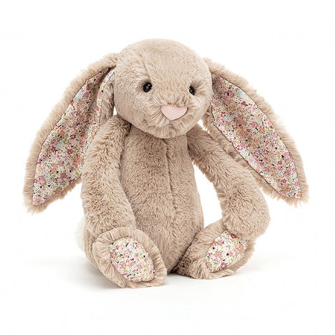 Jellycat Blossom Bashful Bea Bunny Beige Small (18cm)