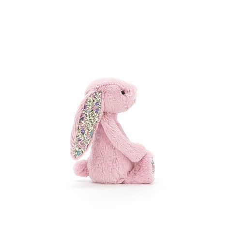 Jellycat Blossom Bashful Bunny Tulip Pink Small (18cm)-Jack & Willow
