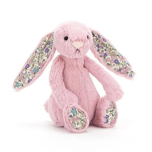 Jellycat Blossom Bashful Bunny Tulip Pink Small (20cm)-Jack & Willow