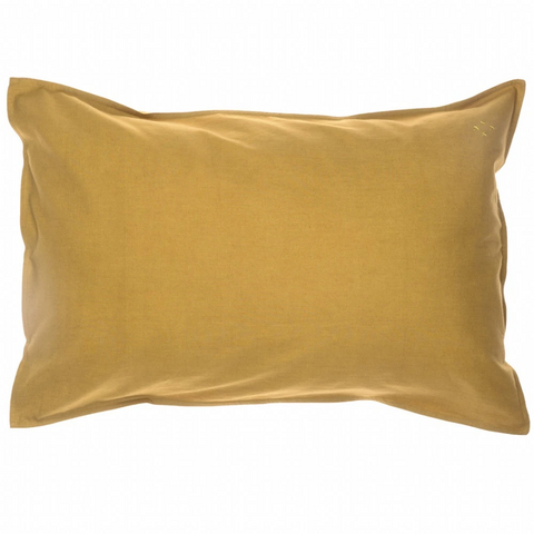 Camomile London Pillowcase - Ochre