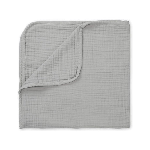 Cam Cam Thick Muslin Blanket - 4 Layer Grey-Jack & Willow