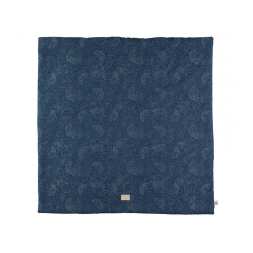 Nobodinoz Play Mat Square - Night Blue / Gold Bubble-Jack & Willow