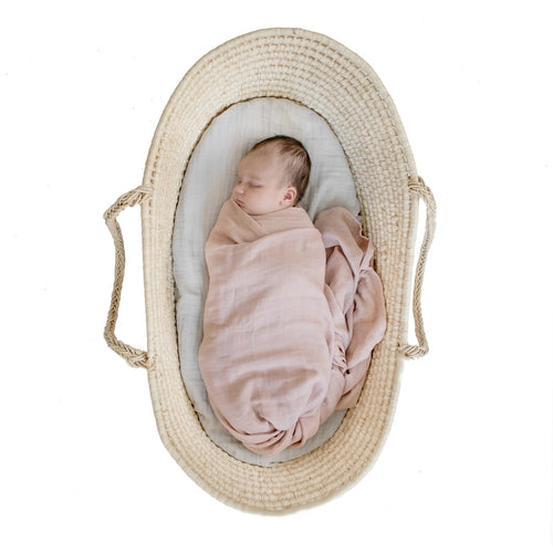 Burrow & Be Swaddle - Dusty Rose-Jack & Willow