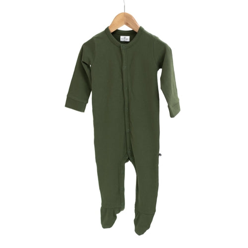 Burrow & Be Organic Sleep Suit - Pine-Jack & Willow