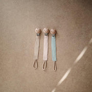Mushie Fabric Clip - Natural