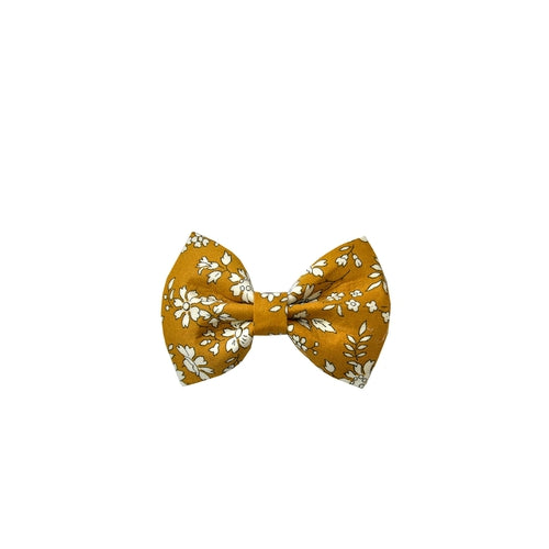 Pretty Wild Georgie Bow Clip - Liberty Capel Mustard-Jack & Willow