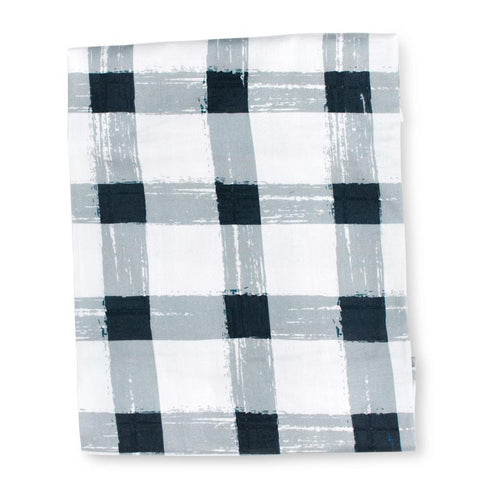 Sack Me Grey Gingham Fitted Sheet