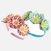 Tiger Tribe Headband Kit - Paper Flowers