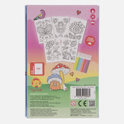 Tiger Tribe Hidden Pattern Colouring Set - Fairy Friends
