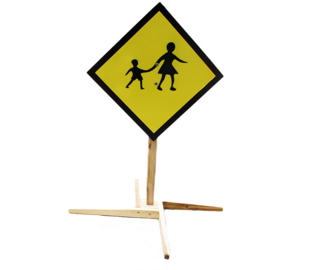 Q Toys Child Height Traffic Signs