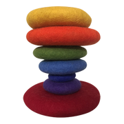 Papoose Rainbow Stacking Set - 7 pcs